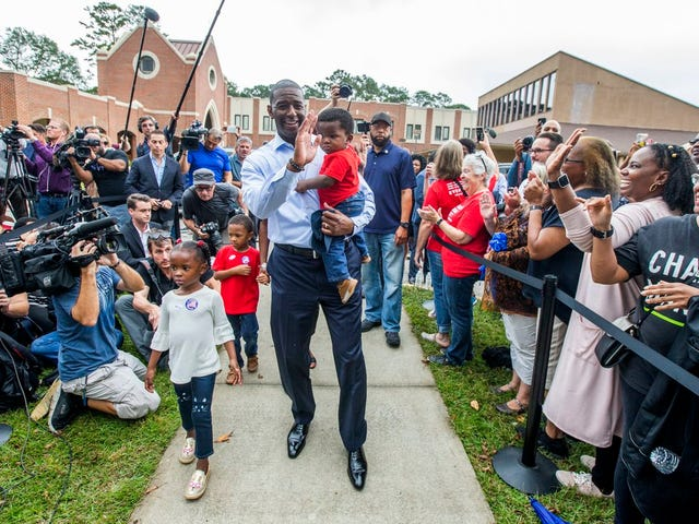 Magnificent, and I Don't Just Mean the Sharp-Dressed Man:  Andrew Gillum To Use War Chest Leftovers To Register Florida Voters