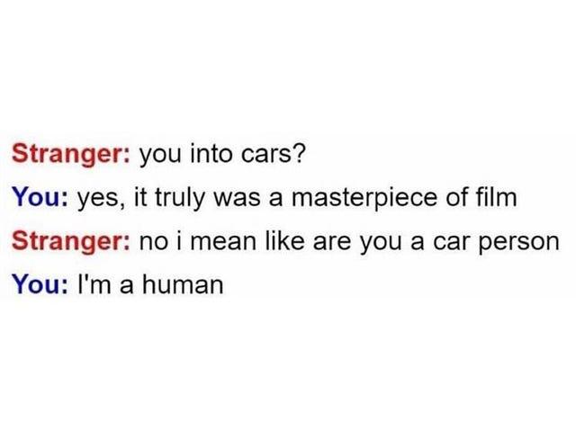 Sometimes I feel like a Stranger