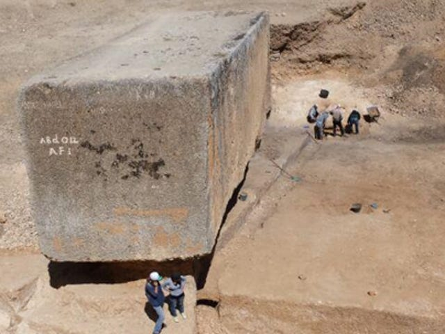 This Is the Largest Stone Block Ever Carved By Human Hands