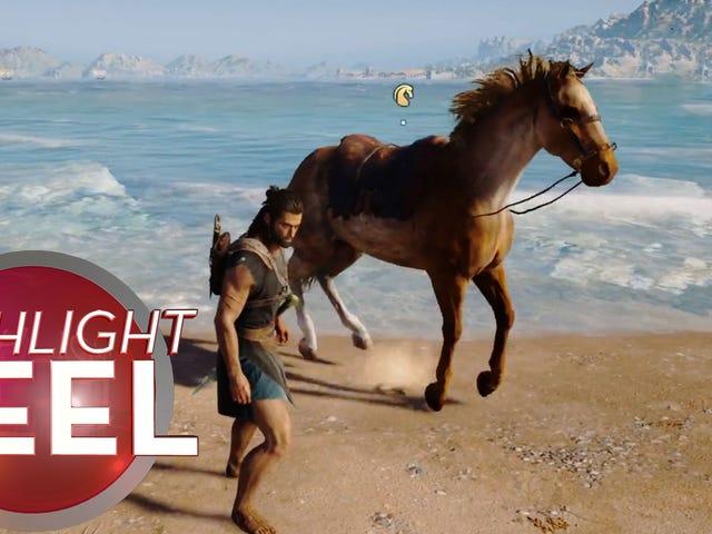 <i>Assassin's Creed</i> Horse est digne de Poséidon