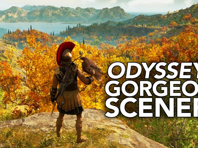 <i>Assassin's Creed Odyssey</i> Offers A Hell Of A View