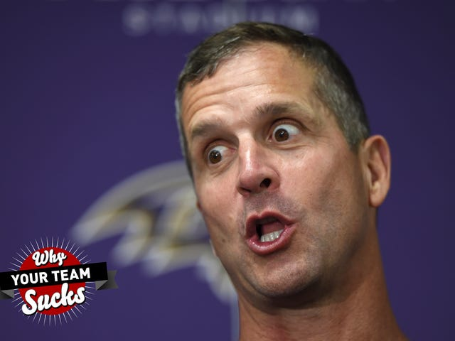 Why Your Team Sucks 2019: Baltimore Ravens