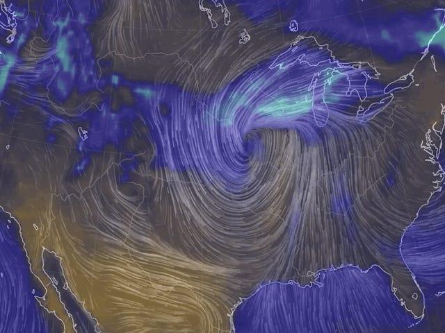 Các vùng bị ngập lụt ở Trung Tây có thể bị tuyết rơi lịch sử trong tuần này