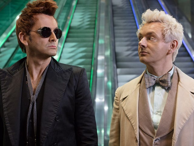 David Tennant and Michael Sheen's chemistry keeps Good Omens afloat