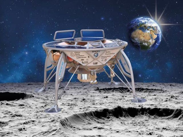 Watch Israel Make History as It Attempts to Land the Beresheet Probe on the Moon [Update: It Crashed]