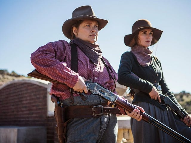 Godless, My Father, and Merritt Wever
