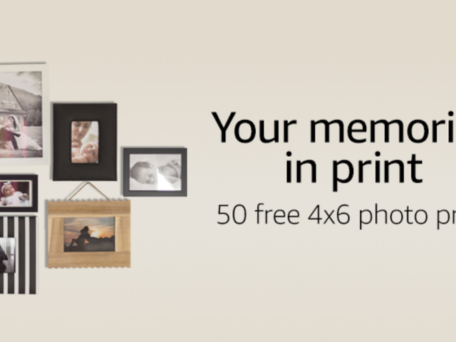 Go Print 50 Of Your Favorite Photos Right Now For Free, Courtesy of Amazon