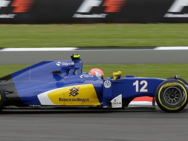 Команда боротьби Sauber F1 - це хтось інший
