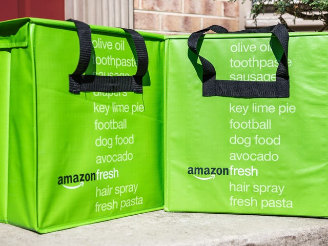 If You Want Grocery Delivery, Get on the Amazon Fresh and Whole Foods Waiting Lists Now