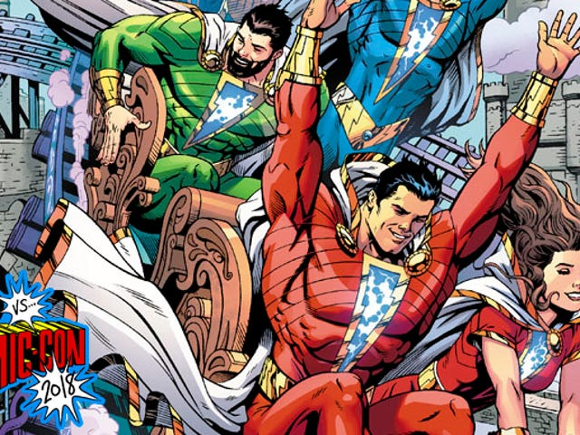 Geoff Johns Talks About Three Jokers,the Shazam Comic, and His StargirlTV Show