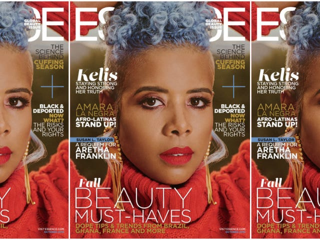 Call It Evolution, Not a Comeback: Kelis Covers Essence's Global Beauty Issue