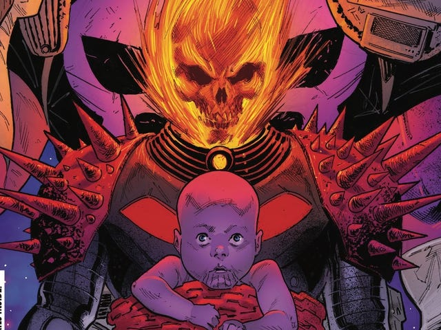 Thanos the Punisher gives Cosmic Ghost Rider a choice in this exclusive