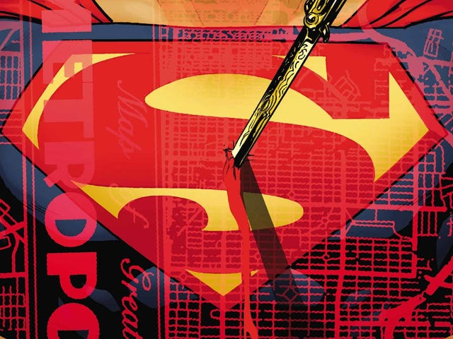 Superman confronts a crooked politician in this Action Comics exclusive