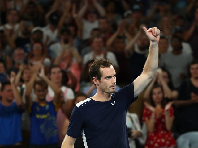 Andy Murray Might Be Done In Australia After Grinding Five-Set Loss