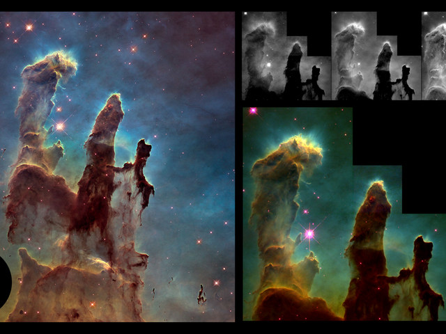 The Making of 'Pillars of Creation,' One of the Most Amazing Images of Our Universe