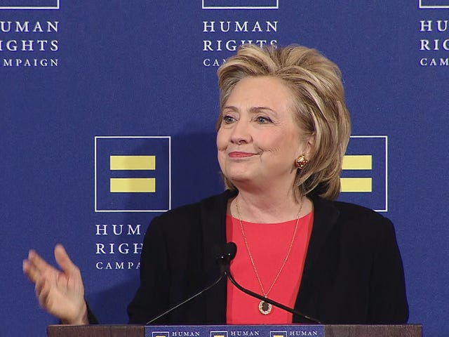Hillary Clinton's LGBT Rights Record?  Fabulous!
