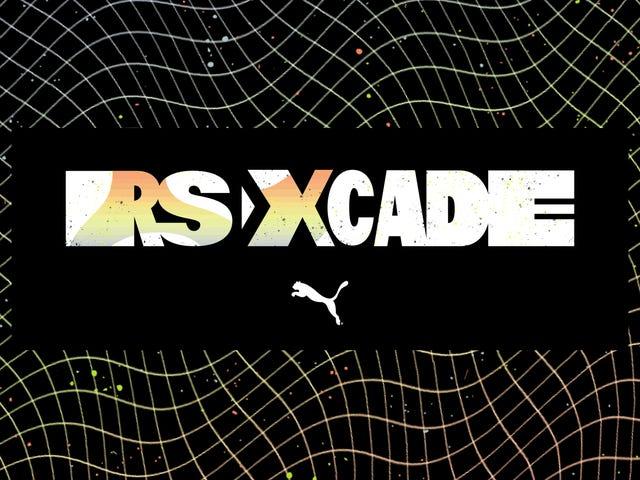 Pon a prueba tus habilidades de juego y muestra tu ajuste en Nueva York en RS-XCADE de Puma.