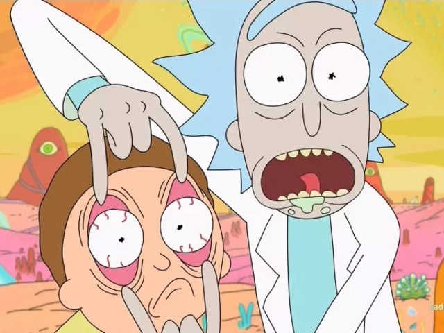 Rick and Morty fa un bellissimo e strano anime in questo video di fan