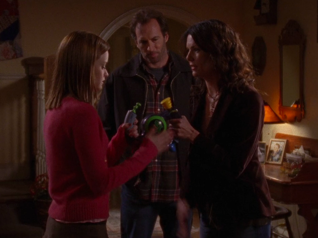 Dean's almost out, but Christopher's moving in on Gilmore Girls season 5