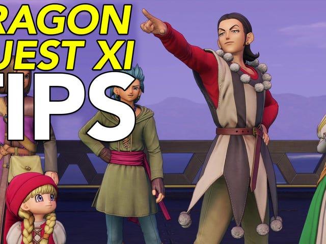 <i>Dragon Quest XI</i> 플레이 팁