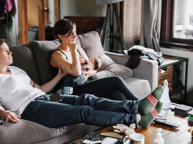 Как партнеры мамы для грудного вскармливания могут на самом деле быть полезными