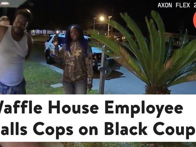 Waffle House Employee Calls Cops on Black Couple