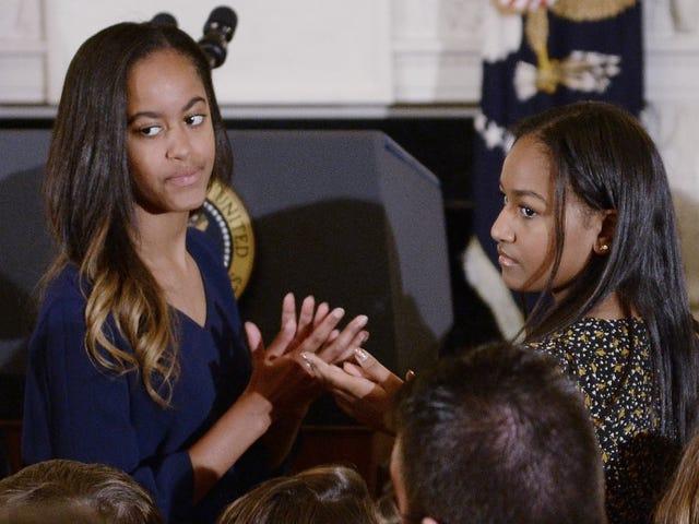 Lämna Malia Obama ensam