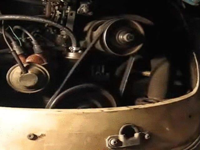 Cambio de correa VW en 5 segundos