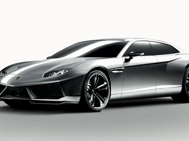 Lamborghini'nin İlk EV'si Porsche Taycan'a Dayalı Olarak 'Olgun' Coupe Tasarım Olacak: Rapor
