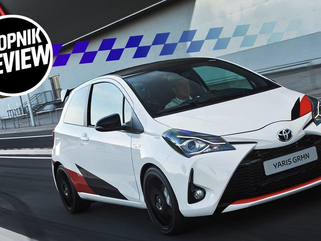 Why The 209 HP Toyota Yaris GRMN Actually Feels Like The Fastest Car Ever