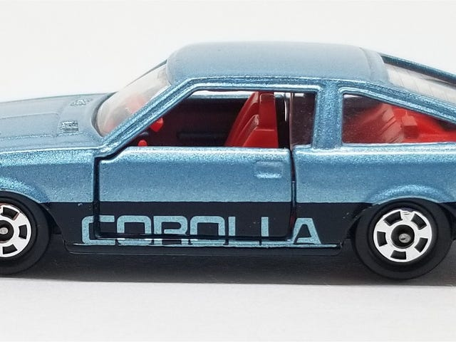 [REVIEW] Tomica Toyota Corolla Levin