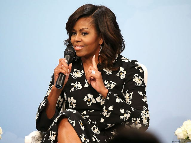Michelle Obama's Hairstylist Says 'She's Always Embraced Her Natural Hair'