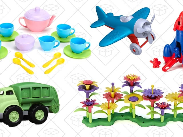 These Discounted Toys Are All Made from Recycled Plastics