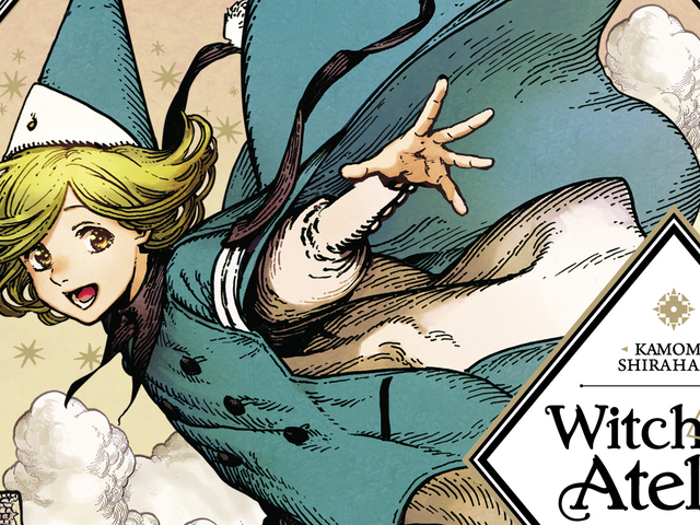 Harry Potter meets Kiki's Delivery Service in the breathtaking Witch Hat Atelier