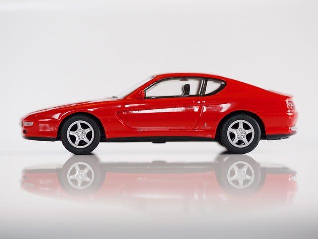 Kyosho Ferrari 6 1/64 # 34 - Έργο αναζωπύρωσης άλογο # 34 - 1992 Ferrari 465 GT