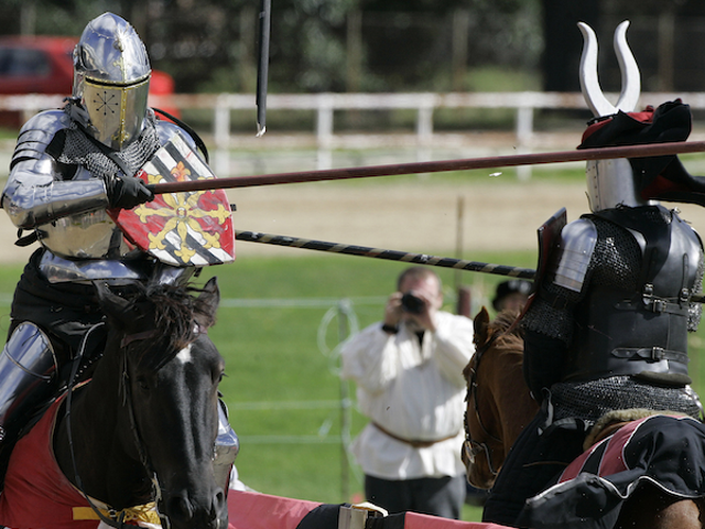 After Only 1,000 Years, Jousting Competitions Open to Female Knights