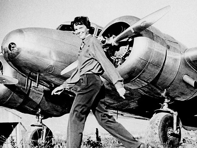 We May Have Finally Found a Piece of Amelia Earhart's Lost Plane