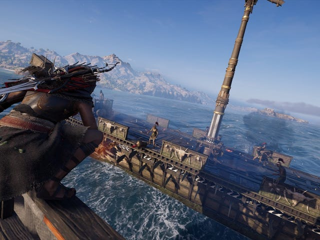 How To Get Good At Assassin's Creed Odyssey's Ship Battles