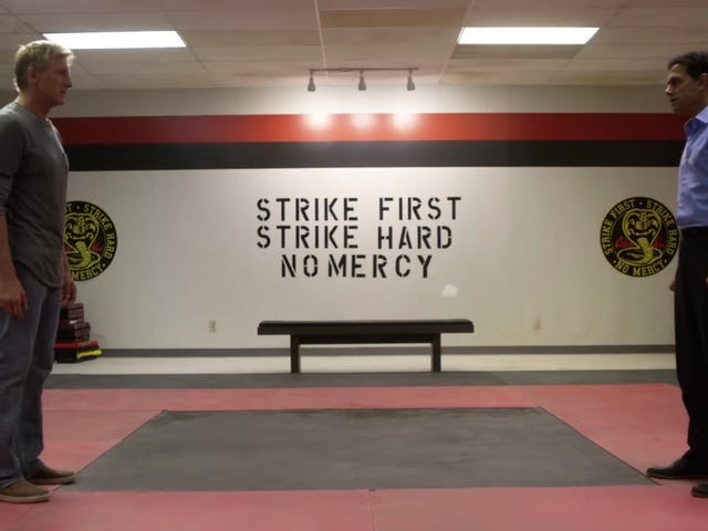 The First Teaser for Cobra Kai Features a Karate Kid Stand-Off 30 Years in the Making