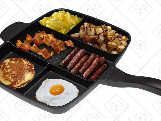 This Pan Is Designed For Every Type of Breakfast Food