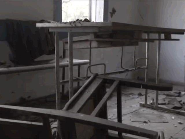 Se adentra en un área de exclusión de Chernobyl y graba la zona que sufrió el 70% del desastre nuclear