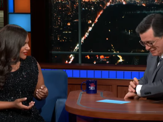 Mindy Kaling and Stephen Colbert swap Late Night advice, like turning off your damn watch phone