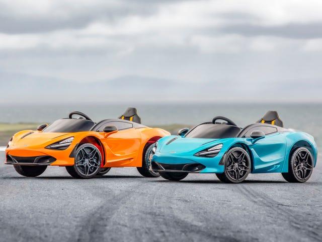 Finalmente, um McLaren I Can Afford