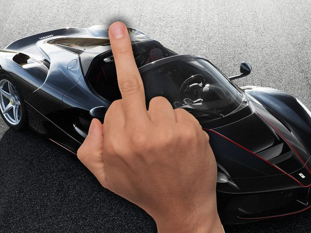 Pissed-Off Racing Mogul Drops LaFerrari Lawsuit, Also The NSX Is Better Anyway
