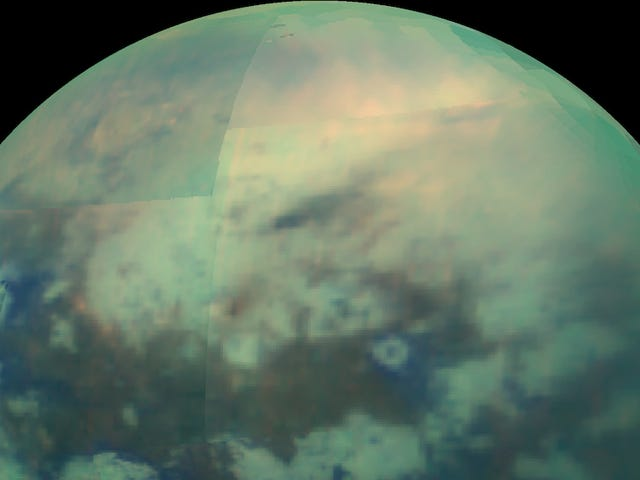 Saturn's Weirdest Moon Is Full of Electric Sand