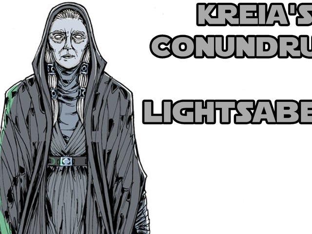 Les énigmes de Kreia - Sabres laser