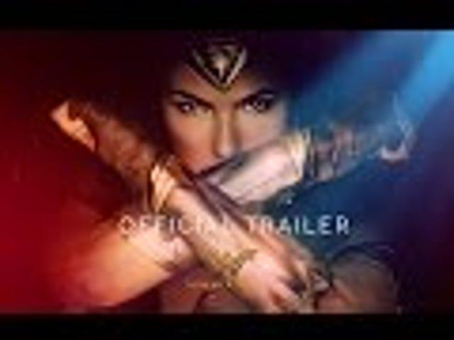 Wonder Woman , 새로운 예고편에서 임무 수행