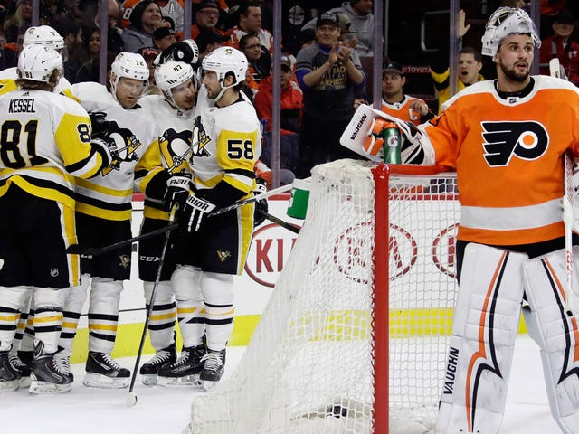 The Penguins Still Own The Flyers Where It Counts