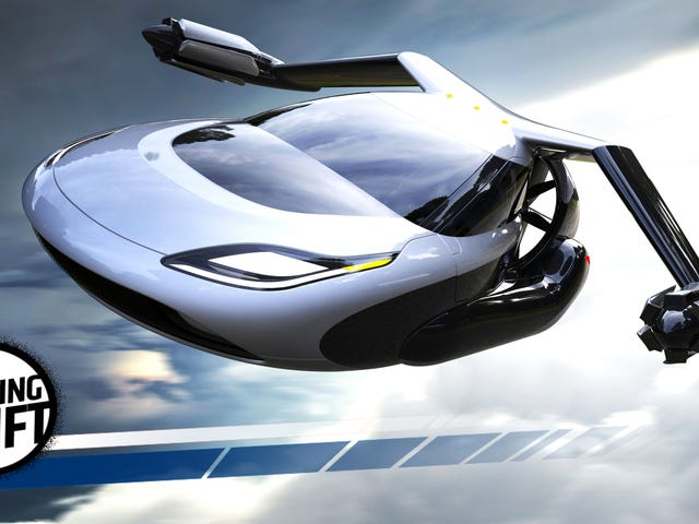 Volvo Parent Geely Buys The Flying Car That's Always Two Years Away