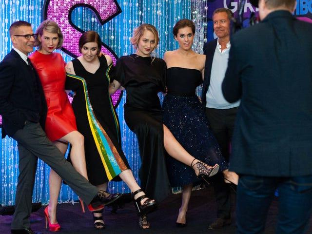 Røde kjoler, flere bukser !, og Real Life BFF'er på Girls Premiere